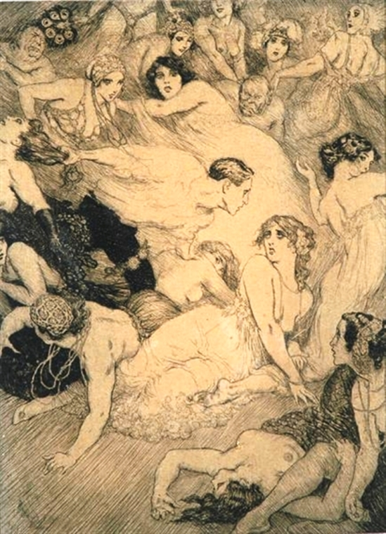 Norman Lindsay. The Song