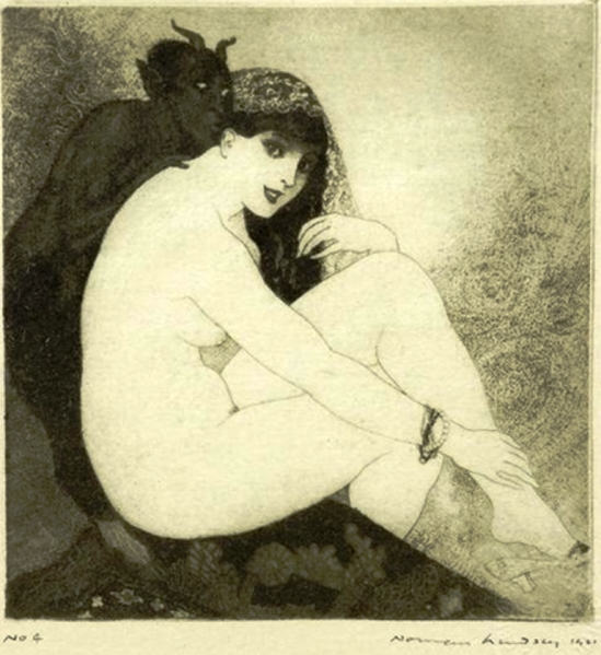 Norman Lindsay. Whispers 1920