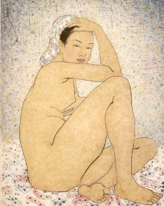 Pan Yuliang. Nude 1963