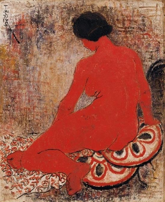 Pan Yuliang. Nude 1951