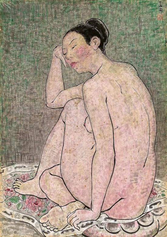 Pan Yuliang. Nude 1952