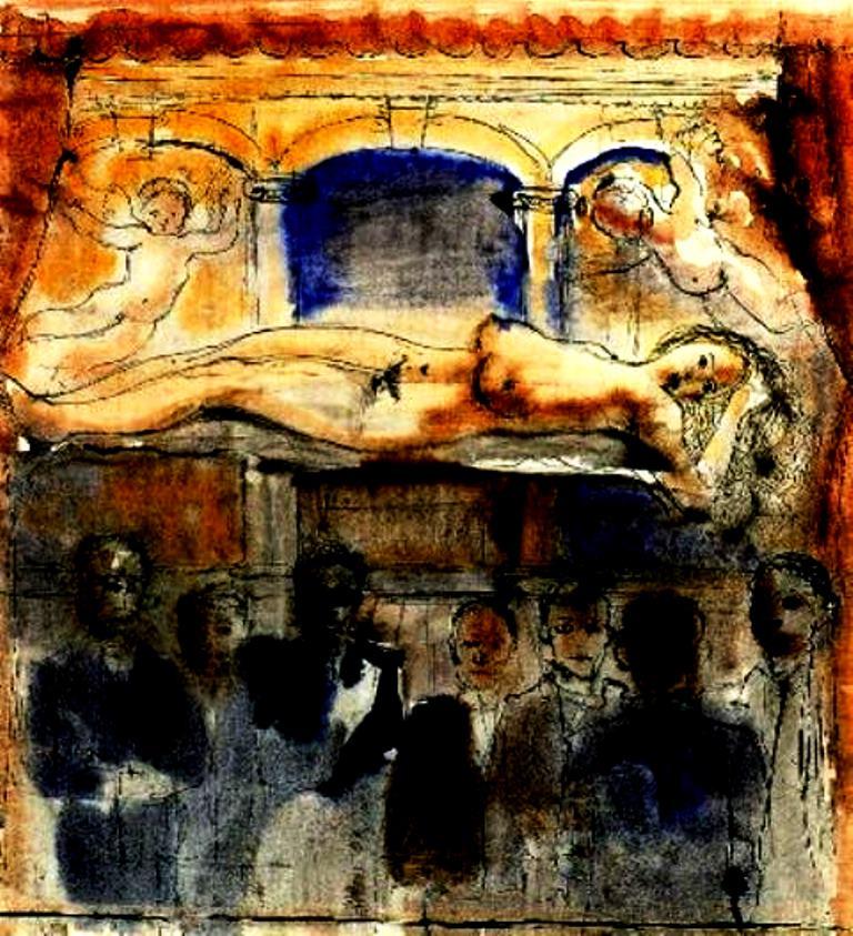 Paul delvaux. La vénus endormie 1932