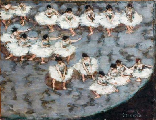 Pierre Bonnard. Le ballet vers 1896