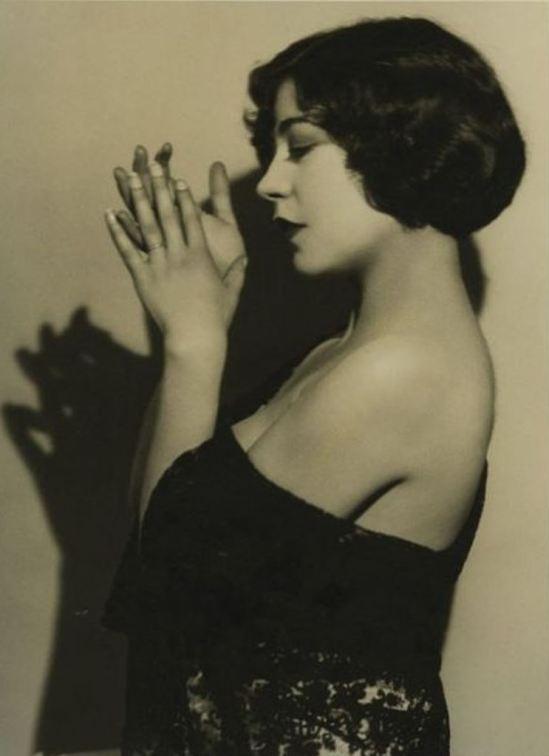 Ruth Harriet Louise. Renée Adorée  1930 Via wiki
