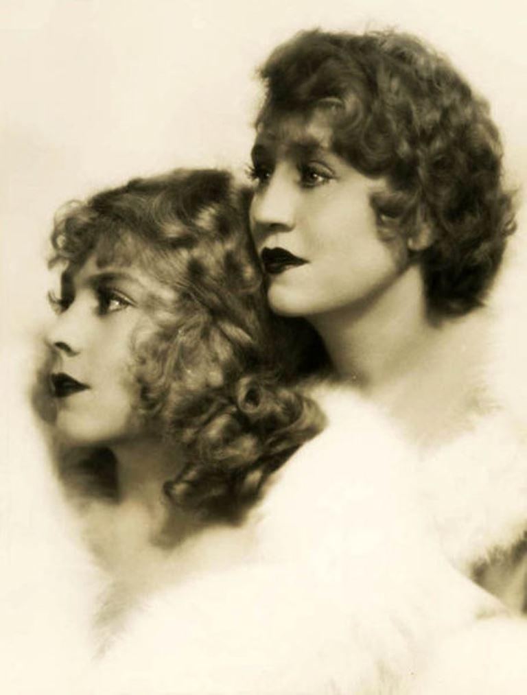Ruth Harriet Louise. Vivian and Rosetta Duncan 1928 Via wiki