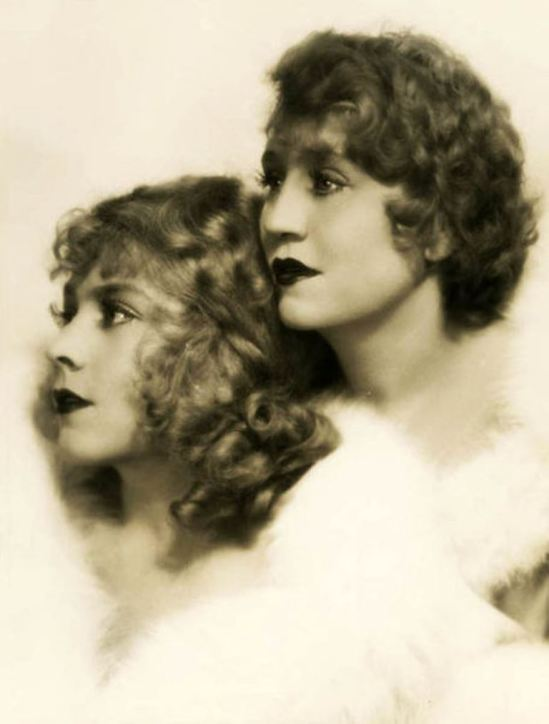 Ruth Harriet Louise. Vivian and Rosetta Duncan 1928 Via wiki