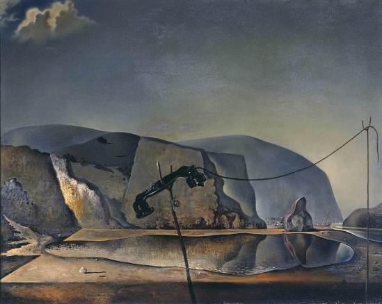 Salvador Dali. Mountain lake 1938