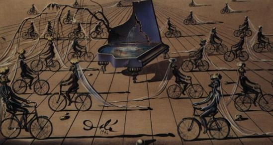 Salvador Dali. Sentimental coloquio 1944