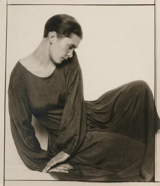 Trude Fleischmann. The dancer Ruth Maria Saliger Via invaluable.com
