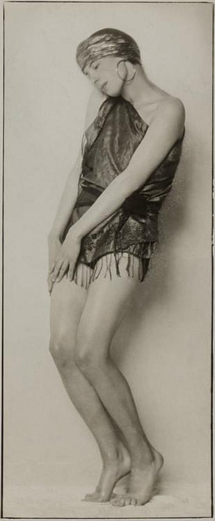 Trude Fleischmann. The dancer Tilly Losch Via invaluable.com