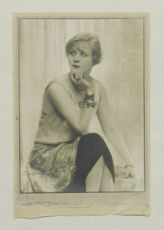 Dorothy Wilding. Unframed mounted photograph. Pose MVia liveauctioneers