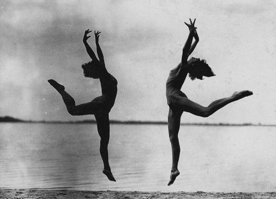 1925 DANSEUSES NUES GERHARD RIEBICKE Via ebay