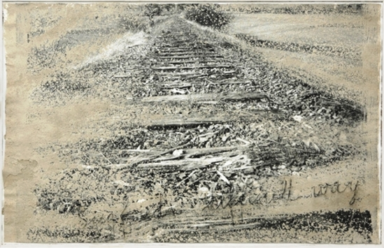 Anselm Kiefer. Siegfried's difficult way 1997 Via mutualart