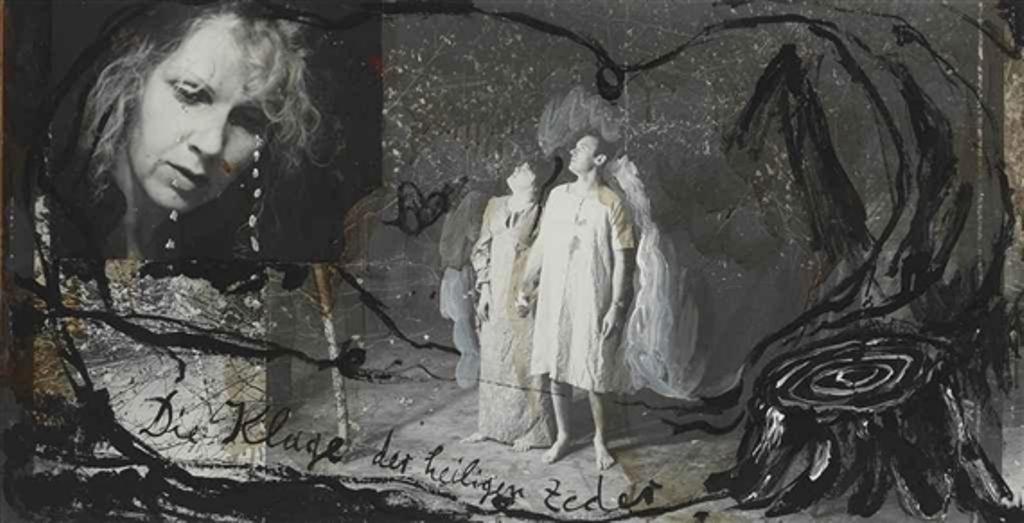 Anselm Kiefer. The lament of the sacred cedars 1981 Via mutualart