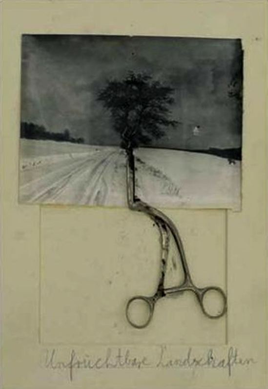 Anselm Kiefer. Unfruchtbare landschaften 2010 Via gallerieyvonlambert