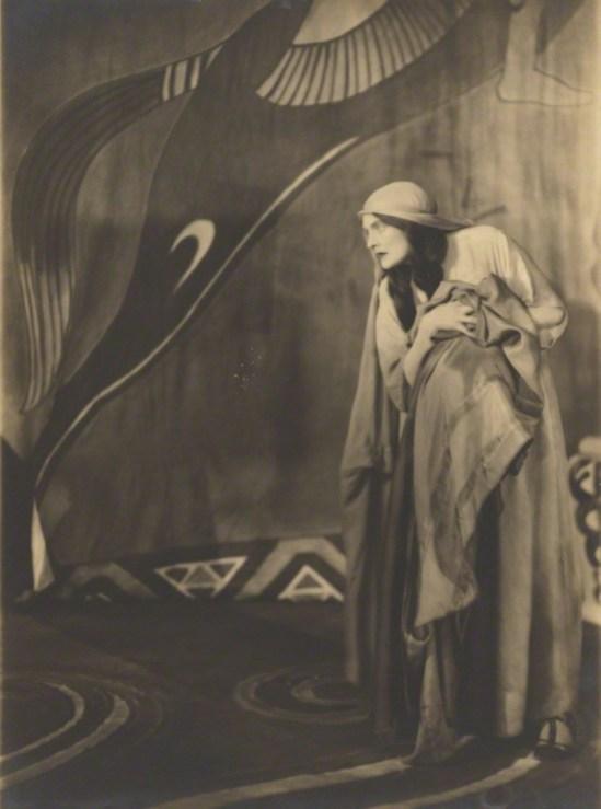 Bertram Park. Dame Sybil Thorndike 1918 Via npg