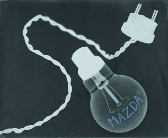 Claude Tolmer. Mazda light bulb, 1933 Via liveauctioneers