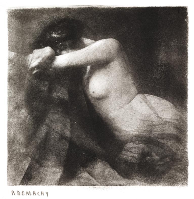 Demachy, Robert. Désespoir 1905 Via nationalmediamuseum