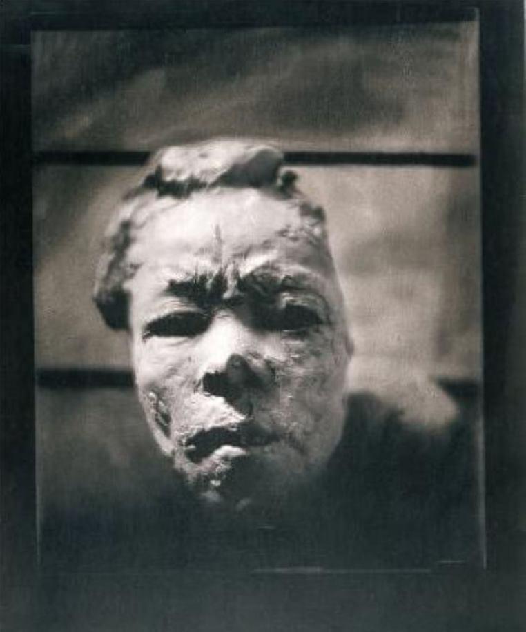 Edward Steichen. Masque d'Hanako 1911-1913 Via musée-rodin