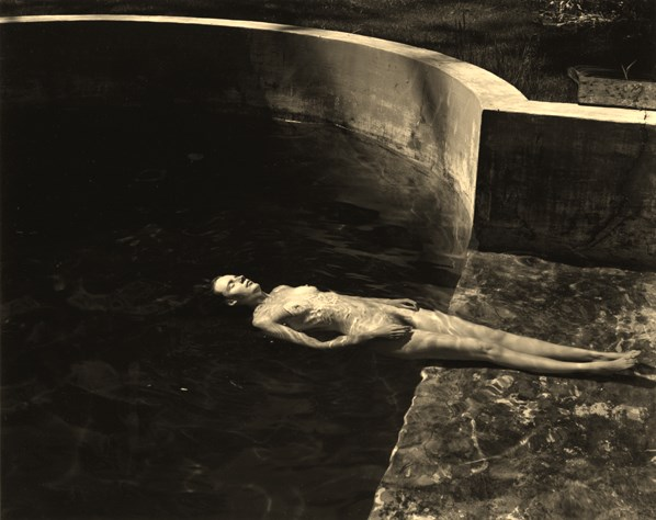 Edward Weston. Floating nude 1939 Via scottnicholsgallery