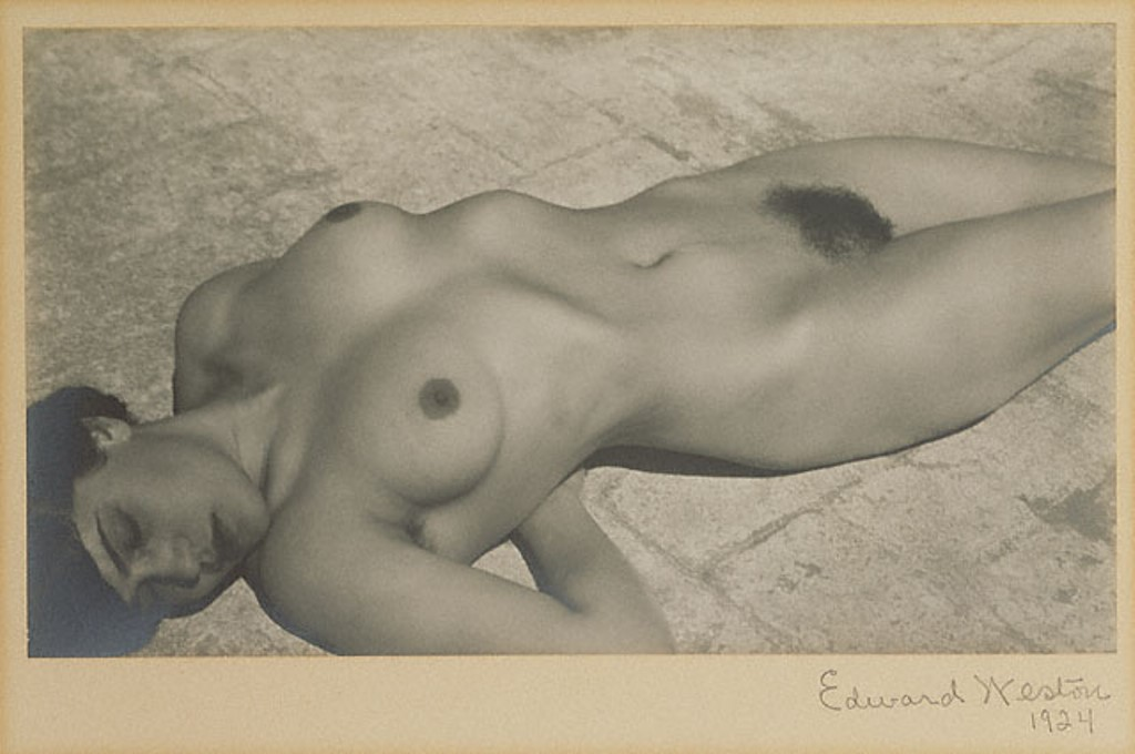 Edward Weston. Nude, Mexico 1924 Via getty