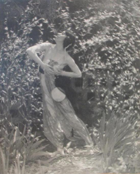 Edward Weston. Portrait of Katherine Edson 1915 Via igavelauctions