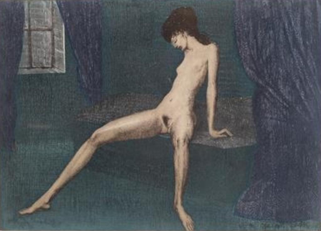 Ernst Fuchs. Twilight 1972