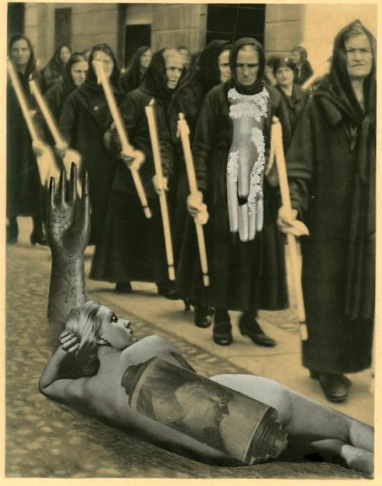 Karel Teige. Collage 1943 Via naturpixel.com