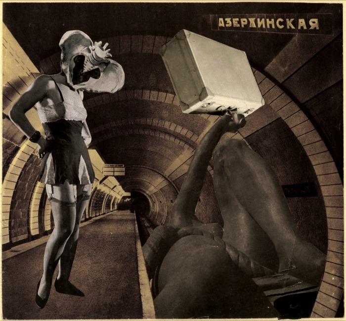 Karel Teige. Collage Nr. 50 1938 Via sounds-like-me