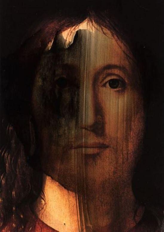 Paul Cava Christ 1997. Ink series Via paulcavaart