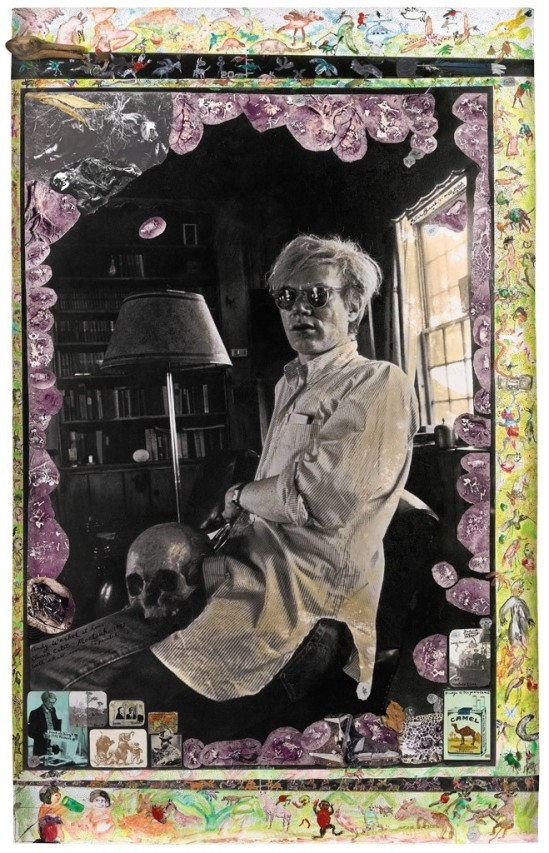Peter Beard . Andy Warhol at home Church Estate. Montauk  1972 Via sothebys