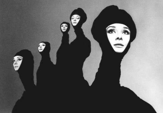 Richard Avedon. Audrey Hepburn 1967 Via artblart