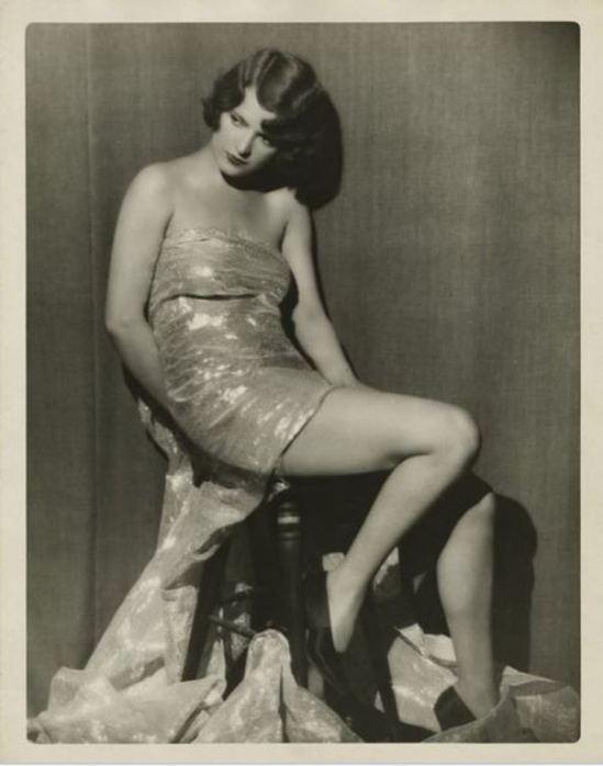 Russell Ball. Avonne Taylor 1920-1930 Via historicalzg