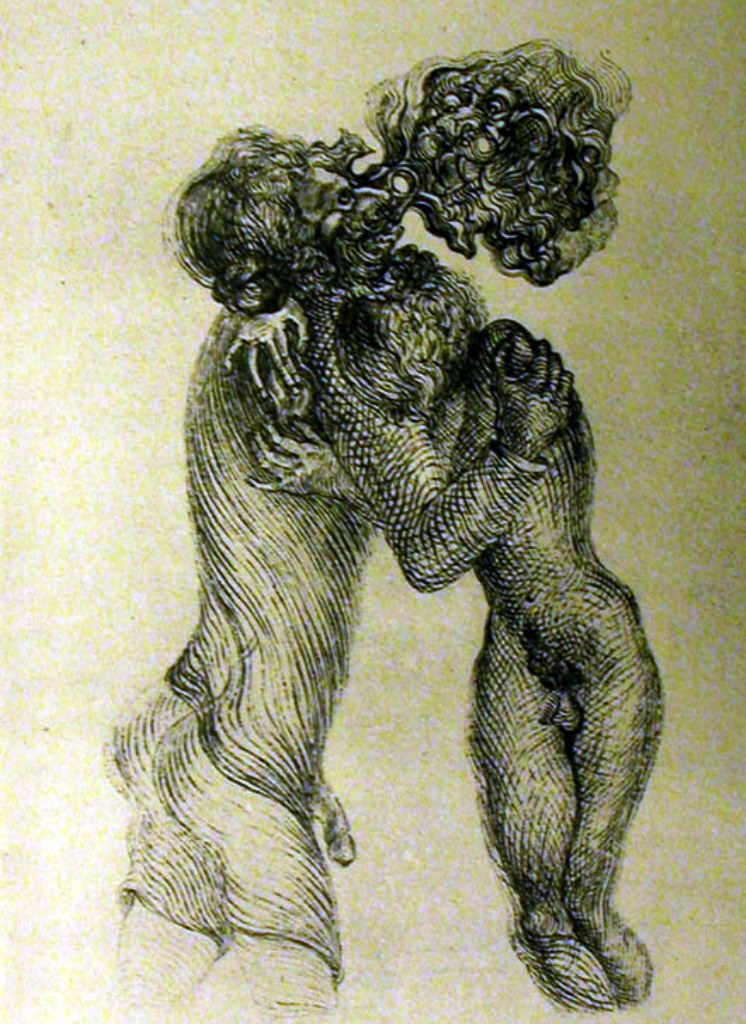 Salvador Dali. La femme visible. Plate 2