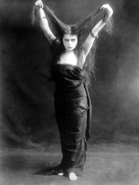 Theda Bara in Sin 1915 Via celebrity-photos