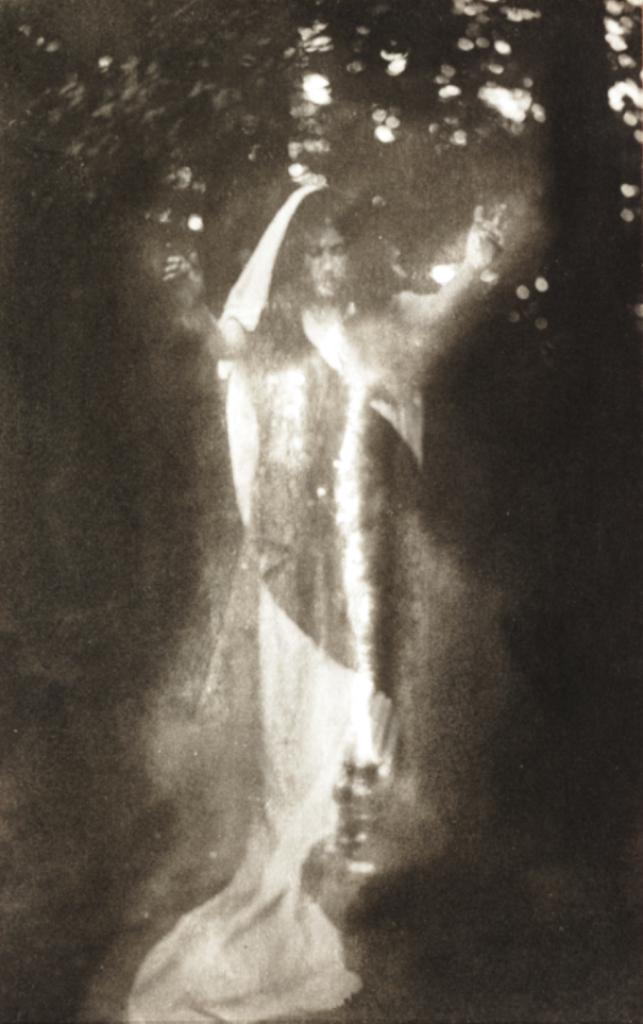 Warburg, John Cimon. The incantation 1901 Via nationalmediamuseum
