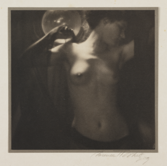 White, Clarence Hudson. Torso 1909 Via nationalmediamuseum