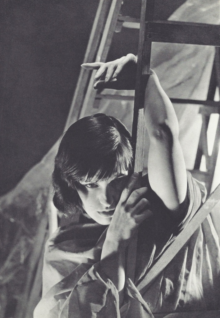 George Hoyningen-Huene - Lotte Lenya, années 1930. Via fantomasencavale