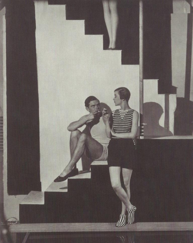 George Hoyningen-Huene. Models wearing swinwears  1930 Via Pinterest
