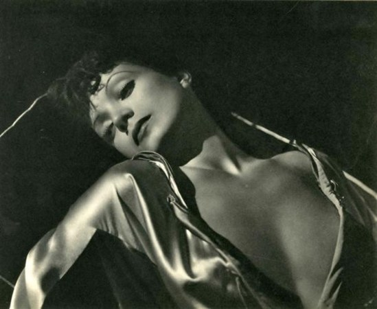 George Hurrell.  Conchita Montenegro 1935 Via liveauctioneeers