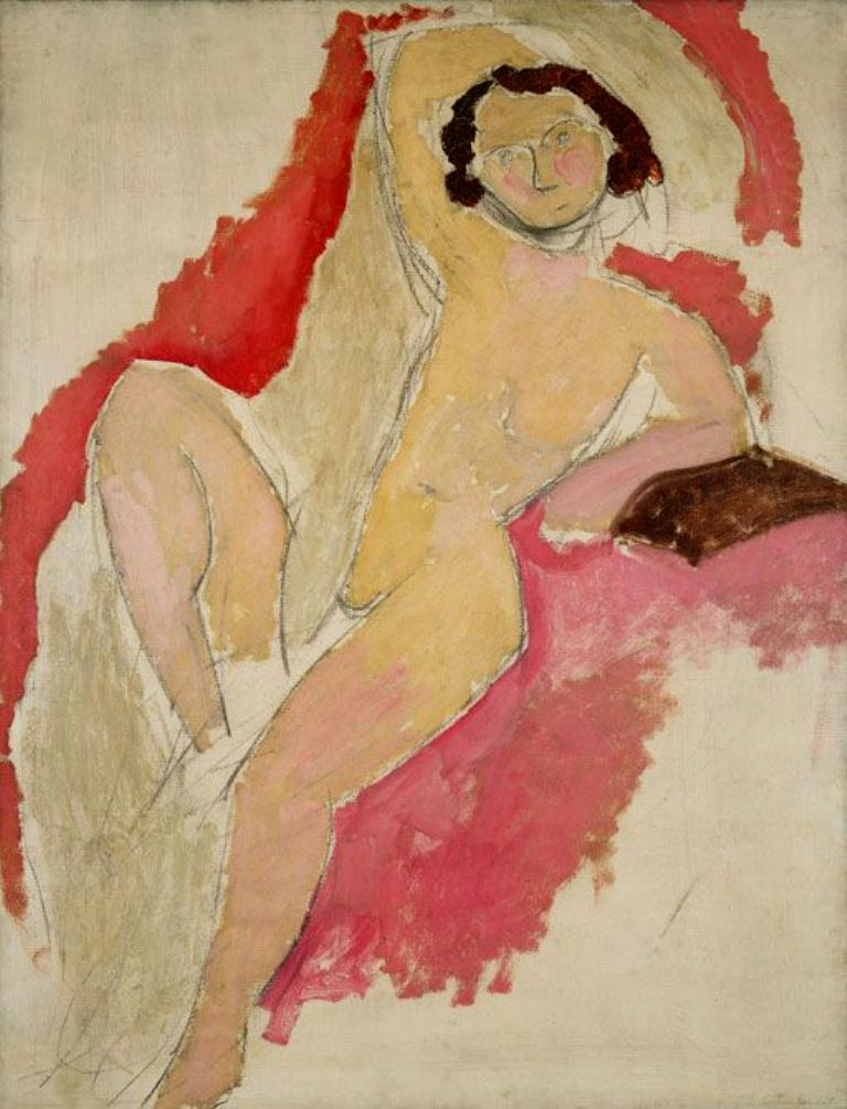 Henri Matisse. Seated nude 1909