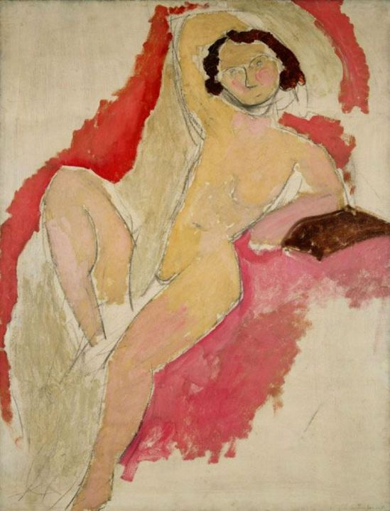 Henri Matisse. Seated nude 1909