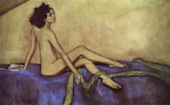 Ida Rubinstein, by Valentin Serov, 1910