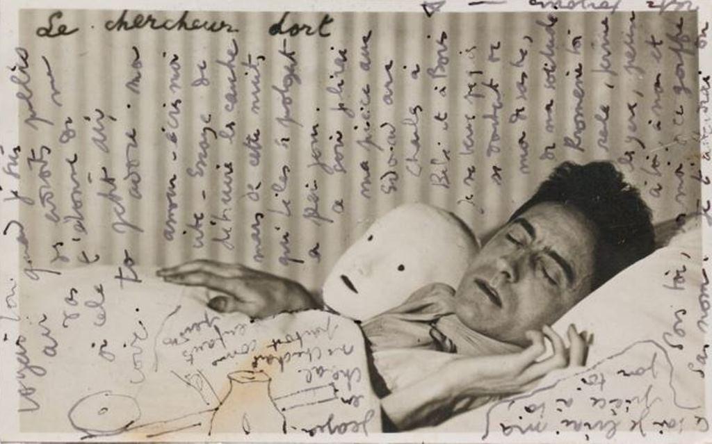 Jean Cocteau. Lettre adressée à Nathalie Paley vers 1932-1934 Via drouot