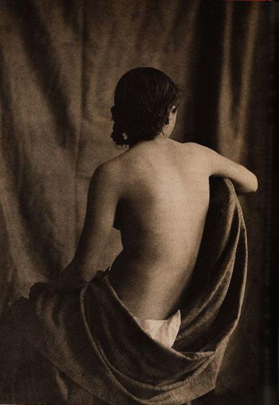 Jean Louis Marie Eugène Durieu (1800 - 1874). Elément d'une série de nus réalisés avec Eugène Delacroix Via wiki