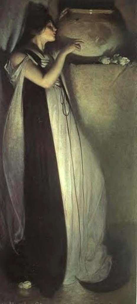 John White Alexander. Isabella and the Pot of Basil 1897