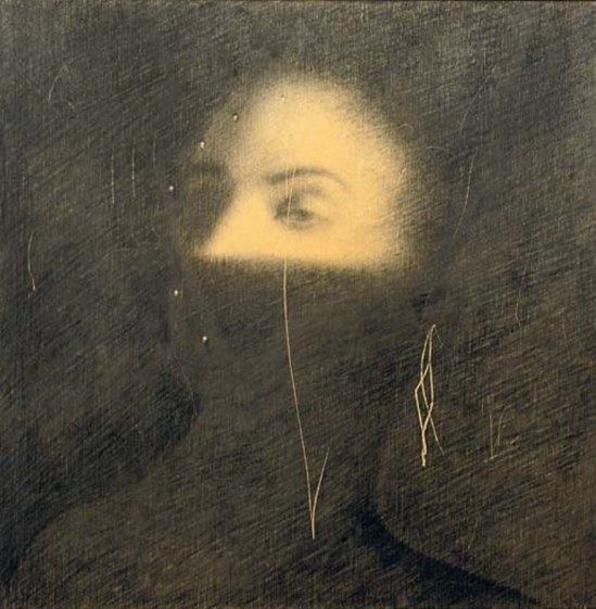 Omar Galliani. A lato sinistro 1992 Via christies