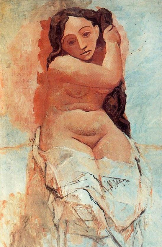 Pablo Picasso. La toilette