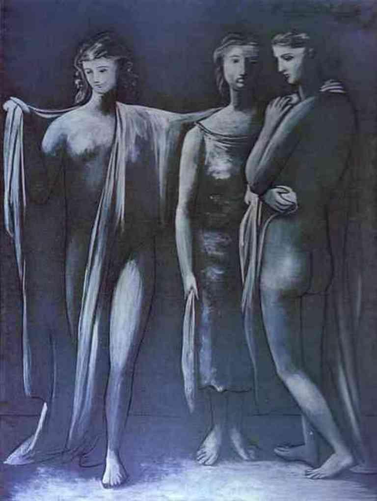 Pablo Picasso. Les trois grâces