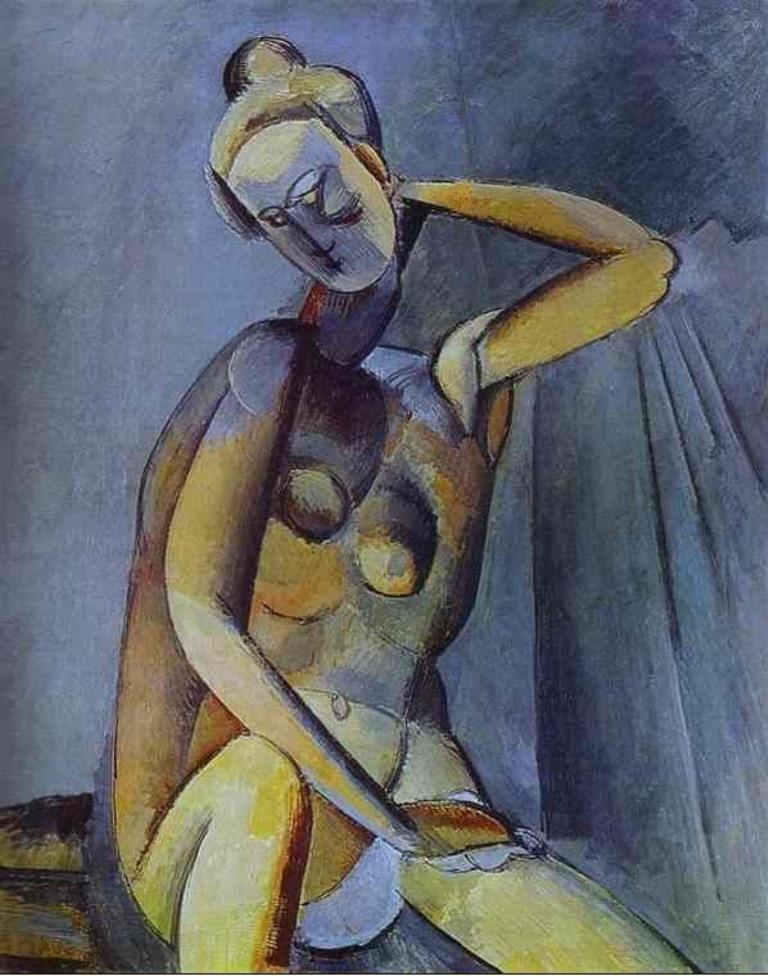 Pablo Picasso. Nude 1909